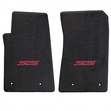 Camaro 2010-2015 2Pc Mats Ebony Ultimat SS Logo
