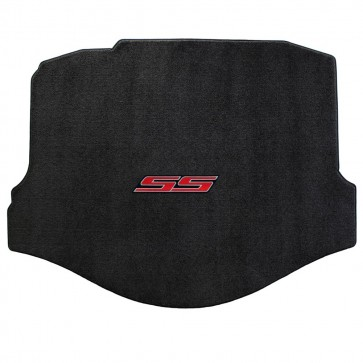 Camaro 2010-2015 Coupe Trunk Mat Ebony Ultimat SS Logo