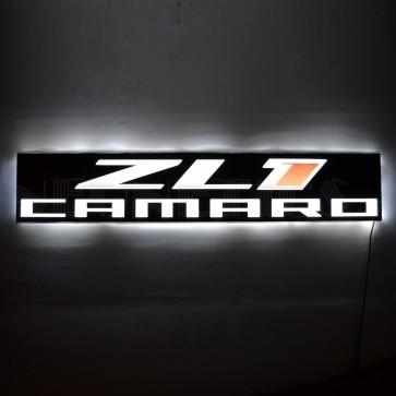 Camaro ZL1 Slim Line LED Sign