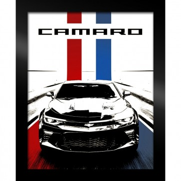 Camaro Stylized | Framed Art
