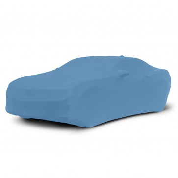 2010-2021 Satin Stretch Indoor Camaro Car Cover - Grabber Blue