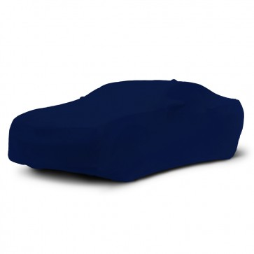 2010-2019 Satin Stretch Indoor Camaro Car Cover - Dark Blue