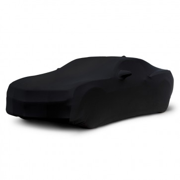 2010-2020 Satin Stretch Indoor Camaro Car Cover - Black