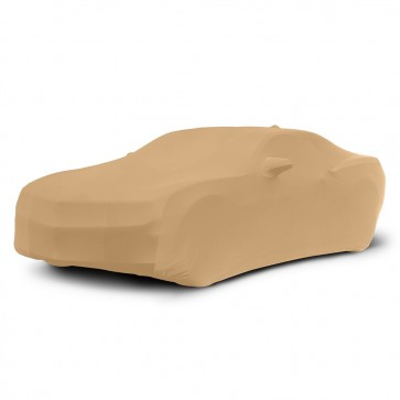 2010-2019 Satin Stretch Indoor Camaro Car Cover - Tan