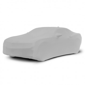 2010-2020 Satin Stretch Indoor Camaro Car Cover - Gray
