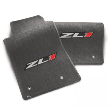 Camaro 2010-2015 ZL1 Floor Mats - Gray - 2pc Set