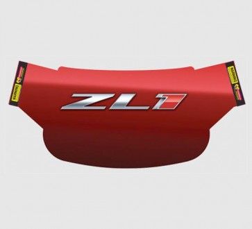 Camaro Windshield Wrap - ZL1 Deep Red