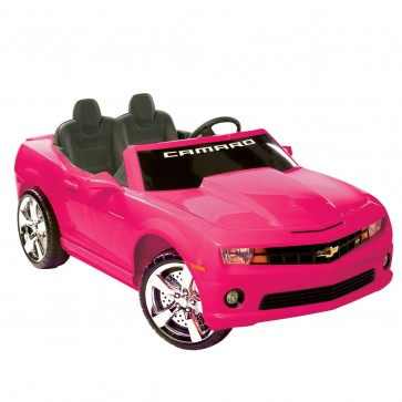 Motorized Camaro Ride-On | Pink