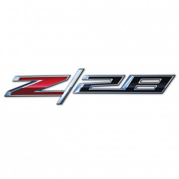 Camaro Z/28 Metal Wall Signs