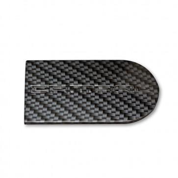 Camaro OEM Ignition Key Plate Cover with Carbon Fiber Finish - Camaro Logo