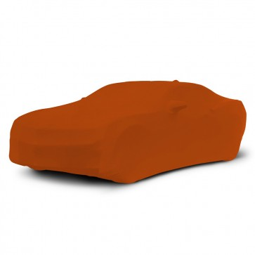 2010-2019 Satin Stretch Indoor Camaro Car Cover - Inferno Orange