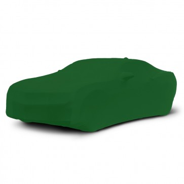 2010-2021 Satin Stretch Indoor Camaro Car Cover - Synergy Green