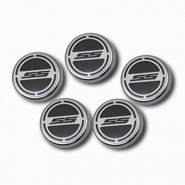 2010-2015 V8 Automatic Camaro Fluid Cap Cover Set - SS