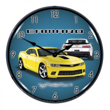 "Gen-6 Camaro SS | 14"" LED Backlit Clock 