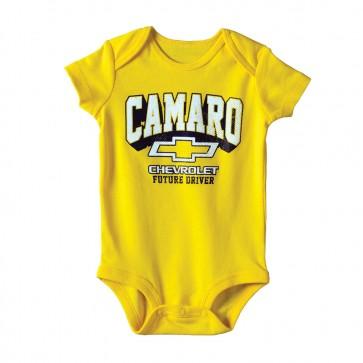 Camaro Future Driver | Yellow Onesie