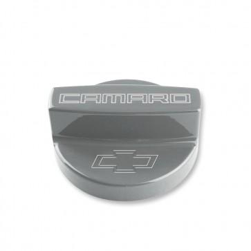 Gen-6 Camaro Oil Fill Cap Cover - Bowtie Logo