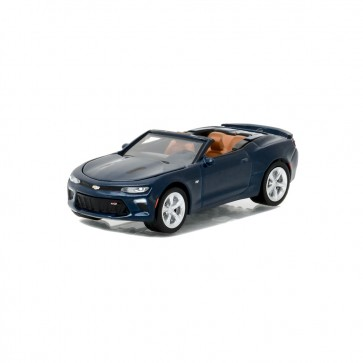 1:64 Scale Camaro | Convertible - Blue