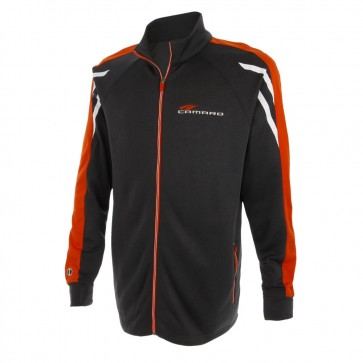 Competition Tri-Color Jacket | Black Heather/Orange/White