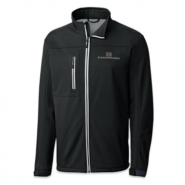 Hood Stripes Waterproof Jacket - Black