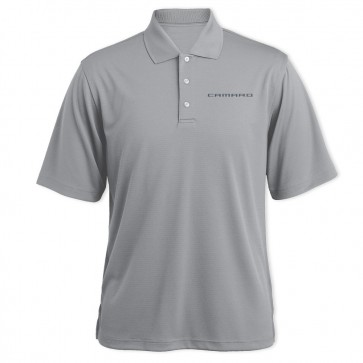 Camaro Signature Polo | Gray Heather