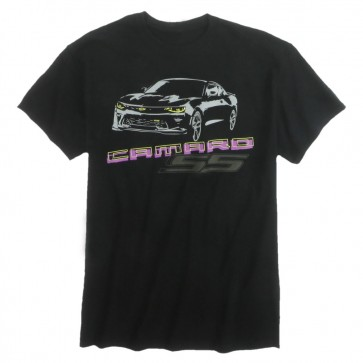 Midnight Camaro SS Tee | Black