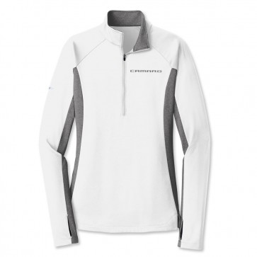 Accent Half-Zip Pullover | White/Charcoal Gray Heather