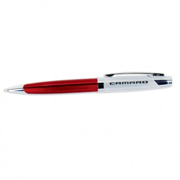 Camaro Signature Ballpoint Pen - Red