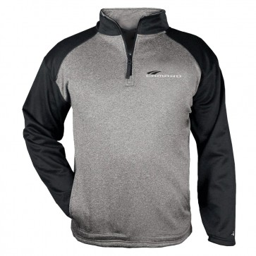 Badger Performance Quarter-Zip - Steel Heather/Black