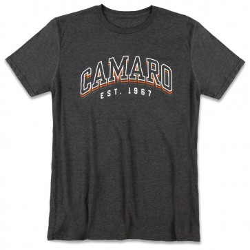 Camaro Offset Tee | Heather Dark Gray