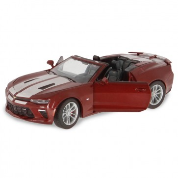1:24 Scale Camaro SS Convertible Garnet Red