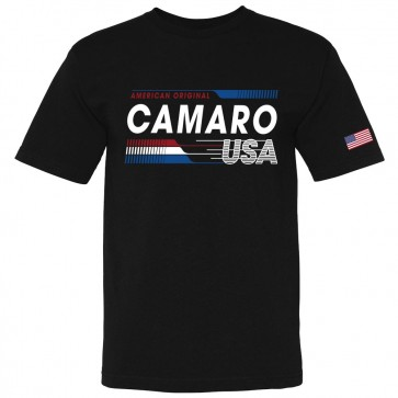 Camaro USA Made | American Original Black Tee