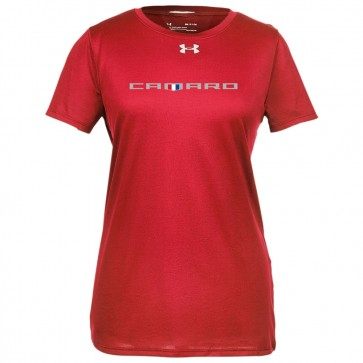 Camaro Ladies UA® | Emblem Tee - Red