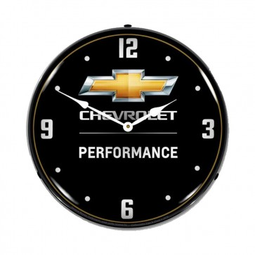 Chevrolet Performance | LED Clock - Black