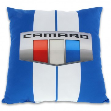 Camaro Decorative Pillow | Blue
