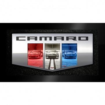 Camaro Six Badge | Framed Print.