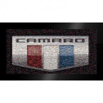 Camaro Six Generations | Mosaic Framed Print