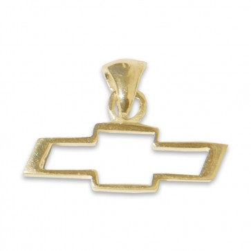 Chevy Bowtie 14k | Yellow Gold  Pendant