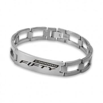 Camaro Fifty Emblem | Titanium Bracelet