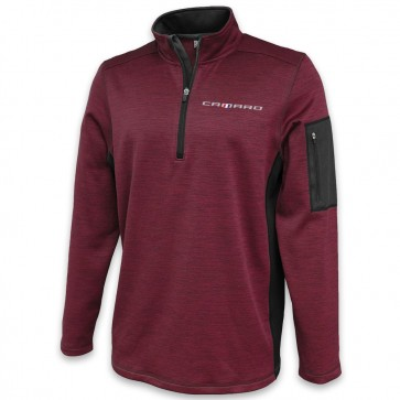Roadway Quarter-Zip Fleece | Maroon/Graphite