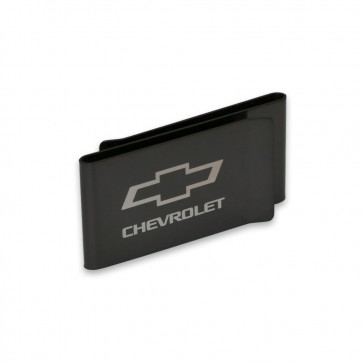 Chevy Bowtie Stainless Steel | Double-Sided Money Clip