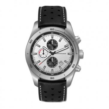 Camaro Signature | Matte Silver Chronograph