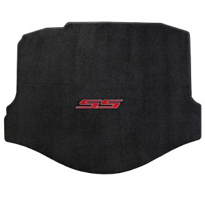 Camaro 2016 Coupe Trunk Mat Ebony Ultimat SS Logo