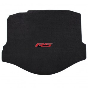 Gen-6 Camaro | Velourtex® Ebony Trunk Mat | RS Logo (Coupe Only)