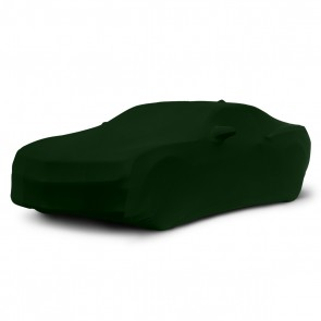 2010-2021 Satin Stretch Indoor Camaro Car Cover - Green