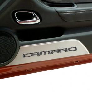 Camaro Carbon Fiber Kick Plates - Camaro