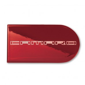 Color-Matched Ignition Key Plate Cover - Camaro Logo