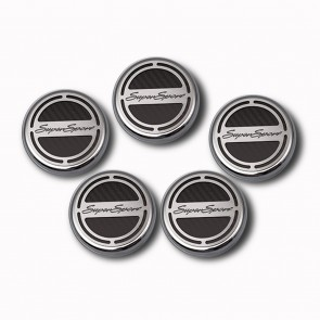 2010-2015 V8 Automatic Camaro Fluid Cap Cover Set - Super Sport