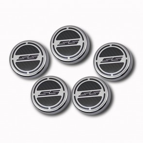 2010-2015 V8 Automatic Camaro Fluid Cap Cover Set - SS