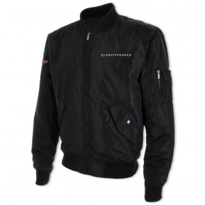 Wingover Bomber Jacket | Black