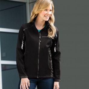 Metro Traveler Soft Shell Jacket - Black/Deep Gray